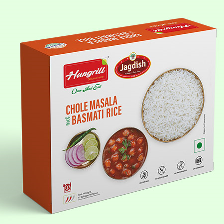Chole Masala with Basmati Rice